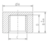 dimensions for a new product titled easy blind vents