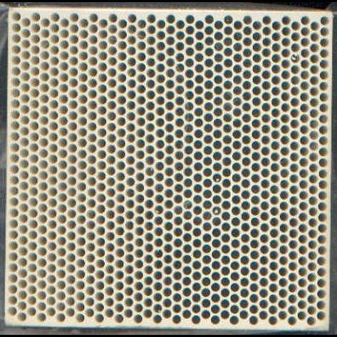 Gepresste Keramik-Filter_Rundlochfilter