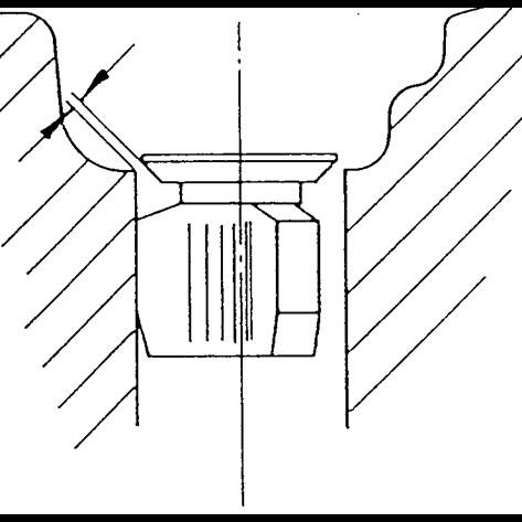 Annular gap vents