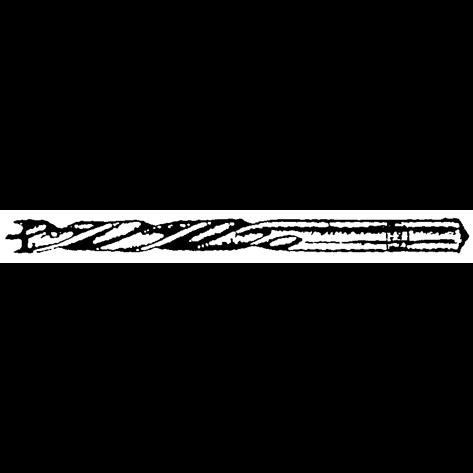 Pattern dowel drills with undersize